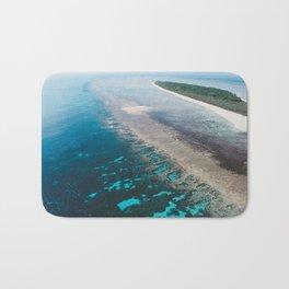 Great Barrier Reef Australia Art Print Bath Mat