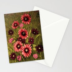 Flowers 3 Stationery Cards
