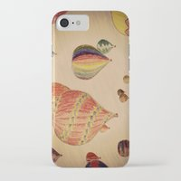 hot air balloons iPhone & iPod Cases featuring Hot Air Balloons by AdrienneW