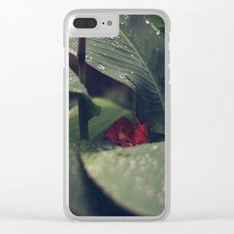 Petrichor (Part 3) Clear iPhone Case