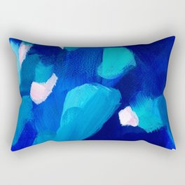 Dreaming of blue Rectangular Pillow