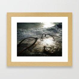 A Place Near the Sea. Framed Art Print