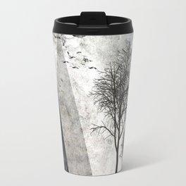 TREES besides MAGIC MOUNTAINS I Travel Mug