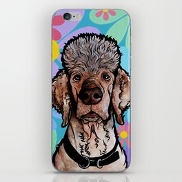 Parti Poodle iPhone Skin