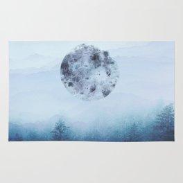 Watercolor Moon Rug