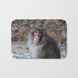 Snow Monkey Bath Mat