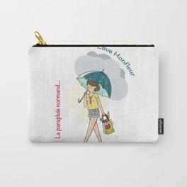Love Honfleur-Le parapluie normand Carry-All Pouch