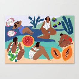 Fruity Bay Canvas Print