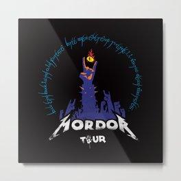The Road to Mordor Metal Print