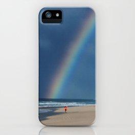 Rainbow Beach * Hawaii iPhone Case