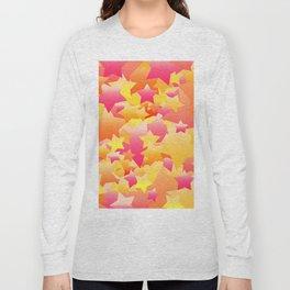 Bubble Stars Sherbet Long Sleeve T-shirt