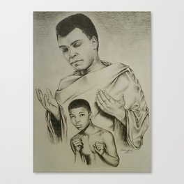 From a Boy with a Dream to a Man with a Legacy Canvas Print