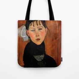 """Amedeo Modigliani """"Marie (Marie, fille du peuple)"""" Tote Bag"""