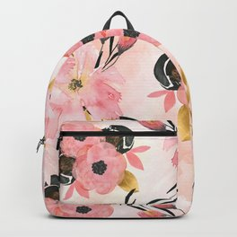 Night Meadow Blush Pink Backpack