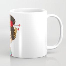 Geisha Japan girl Coffee Mug