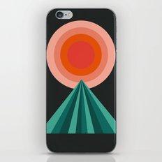 Way Decent - 70s retro throwback minimal sun california socal 1970's style iPhone & iPod Skin