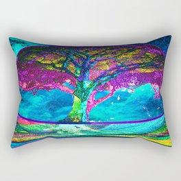 Tree of Life Meditation Rectangular Pillow