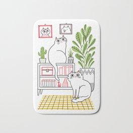 Cat Decor Bath Mat