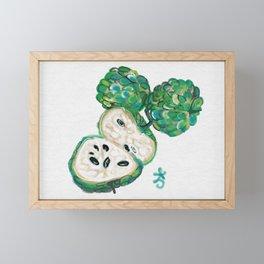 Sweet Sop Sugar Spring Framed Mini Art Print