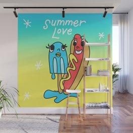 Summer Love Wall Mural