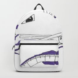 Angler Fish Created Out of a Protractor Backpack