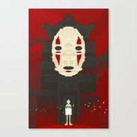 spirited away Canvas Prints featuring Spirited by Danny Haas