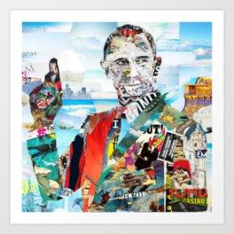Bond James Art Print