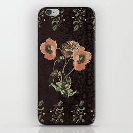 Promises in a poppy iPhone Skin