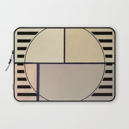 Toned Down - line graphic Laptop Sleeve