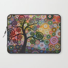 Abstract Art Landscape Original Painting ... Tree of Wishes Laptop Sleeve