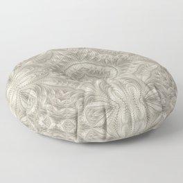 Alabaster Mandala Floor Pillow