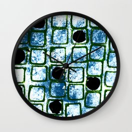 Space Window Wall Clock