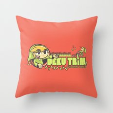 Deku Trim Throw Pillow