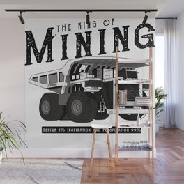Liebherr the king of mining Wall Mural