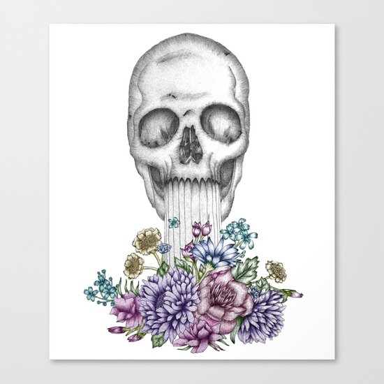 The Birth of Death II Canvas Print