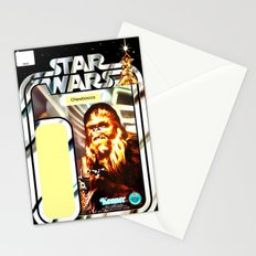 Chewbacca Vintage Action Figure Card Stationery Cards