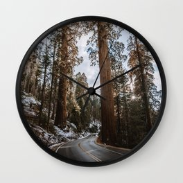 Giant Forest Exploring Wall Clock