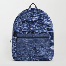 water and ripples Backpack