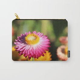 Straw Flowers, Hansville, WA Carry-All Pouch