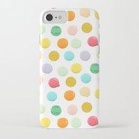 confetti iPhone & iPod Cases featuring Confetti by Catalina Montaña