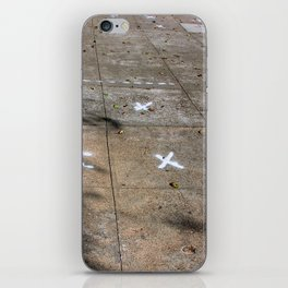 X Marks The Spots iPhone Skin