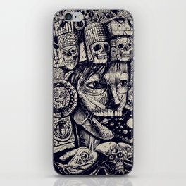 Mictecacihuatl 2 iPhone Skin
