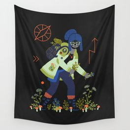 Witch Series: Plants and Herbs Wall Tapestry