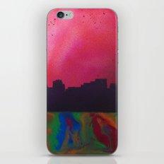 Neon Skyline iPhone & iPod Skin