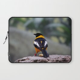 Troupial Feathers Laptop Sleeve