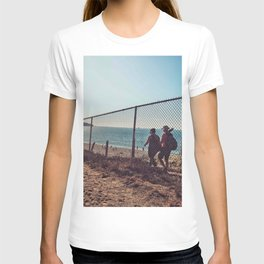 Hiking  view T-shirt