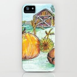 Harvest Colors iPhone Case