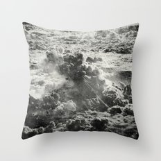 Somewhere Over The Clouds (III Throw Pillow