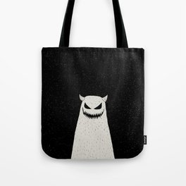 Evil Monster Tote Bag