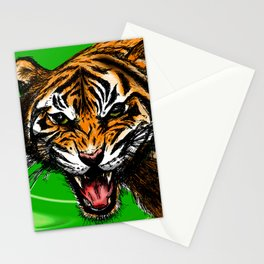 Tiger_014 Stationery Cards